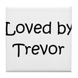 Cool Trevor Tile Coaster