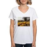 Harvesters Women's V-Neck T-Shirt