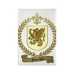 THERRIEN Family Crest Rectangle Magnet