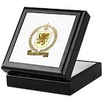 THERRIEN Family Crest Keepsake Box