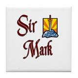 Sir Mark Tile Coaster