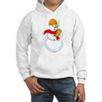 Snowman Chemist Hooded Sweatshirt