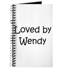 Cute Love wendy Journal