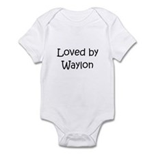 Cute Loved by a Infant Bodysuit