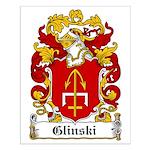 Glinski Family Crest Small Poster