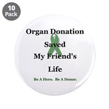 "Friend Transplant 3.5"" Button (10 pack)"