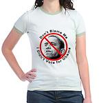 Anti Obama Don't Blame Me (Front) Jr. Ringer T-Shi