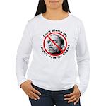 Anti Obama Don't Blame Me (Front) Women's Long Sle