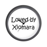 Cute Xiomara Wall Clock