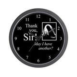Thank You Sir Wall Clock