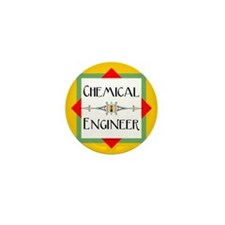 Chemical Engineer Line Mini Button (10 pack)