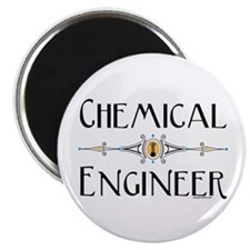 "Chemical Engineer Line 2.25"" Magnet (10 pack)"