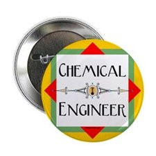 "Chemical Engineer Line 2.25"" Button"