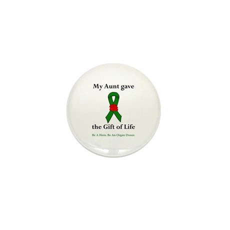 Aunt Donor Mini Button