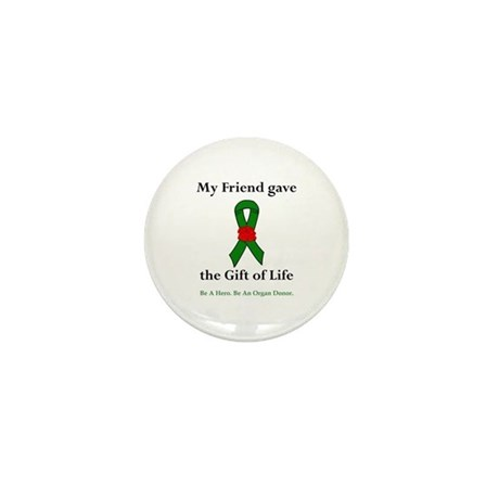 Friend Donor Mini Button