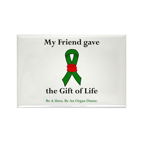 Friend Donor Rectangle Magnet (10 pack)
