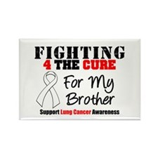 Fighting Lung Cancer Rectangle Magnet (10 pack)