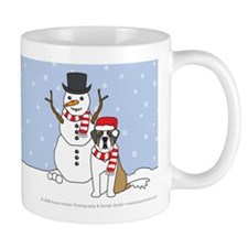 Saint Bernard Winter Mug