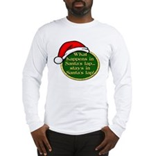 Santa's Lap Long Sleeve T-Shirt