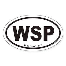 Westport WSP Euro Oval Decal