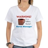Caffeine Deprived Manager Shirt