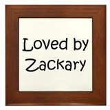 Cute Zackary Framed Tile