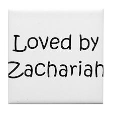 Cute Zachariah Tile Coaster