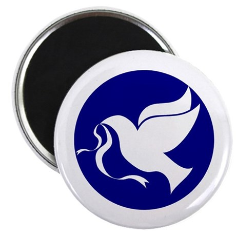 "Peace Dove 2.25"" Magnet (10 pack)"