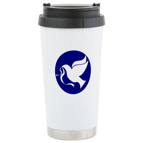 Peace Dove Ceramic Travel Mug