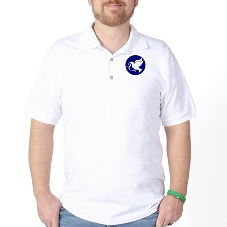 Peace Dove Golf Shirt