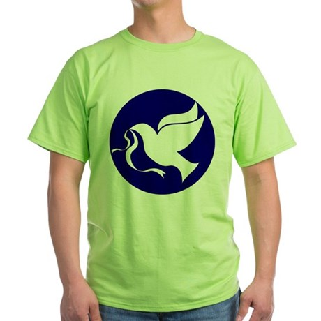 Peace Dove Green T-Shirt
