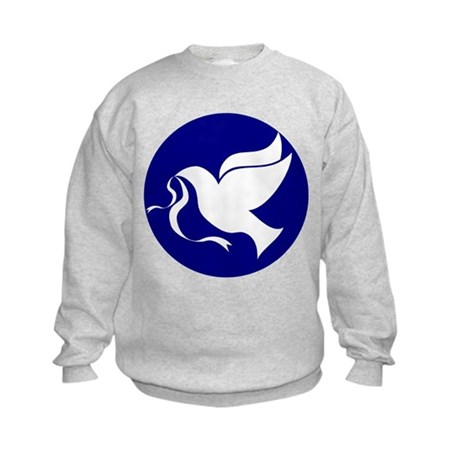 Peace Dove Kids Sweatshirt