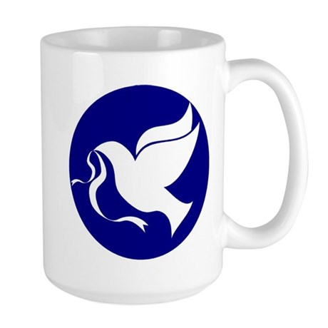 Peace Dove Large Mug