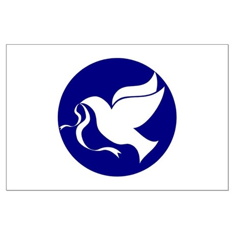 Peace Dove Large Poster