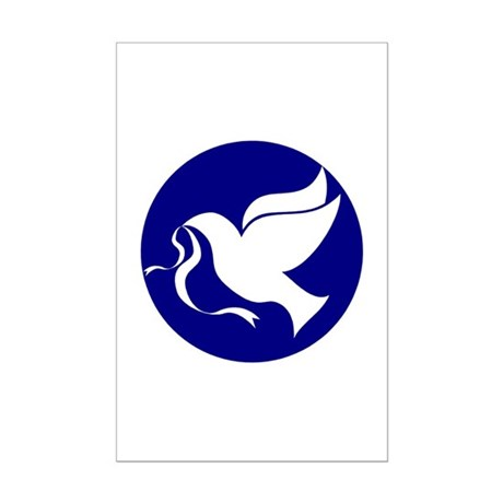 Peace Dove Mini Poster Print