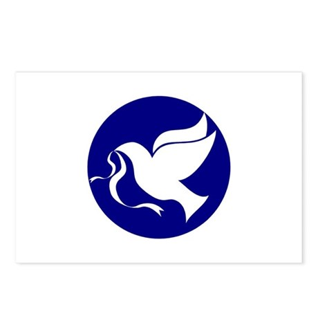 Peace Dove Postcards (Package of 8)