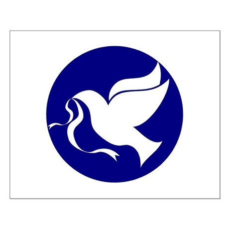Peace Dove Small Poster