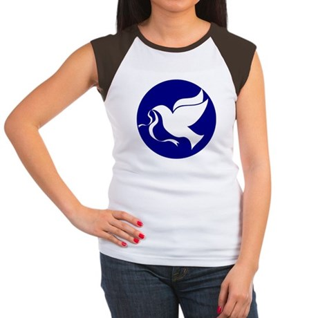 Peace Dove Women's Cap Sleeve T-Shirt
