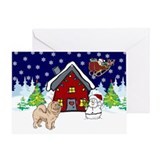 Cute Chow Chow Greeting Card