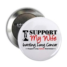 "Support Lung Cancer Awareness 2.25"" Button (10 pac"