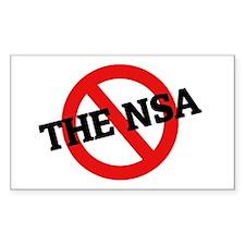 Anti The Nsa Rectangle Decal