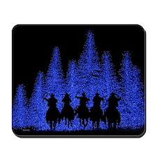 Western Christmas Mousepad