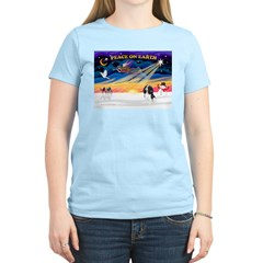 XmasSunrise/Cavalier #6 Women's Light T-Shirt