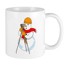 Snowman Surveyor Mug