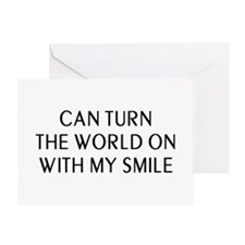 Can Smile Greeting Card