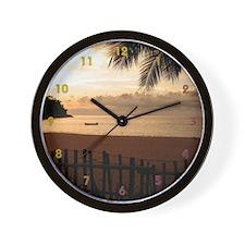 Scenic Beach Clock