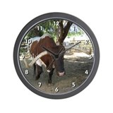 Texas Longhorn Clock