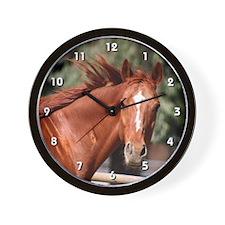 Red Horse Clock