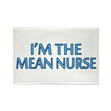 Mean Male Nurse Rectangle Magnet