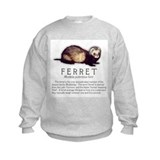Ferret Breed Info Sweatshirt